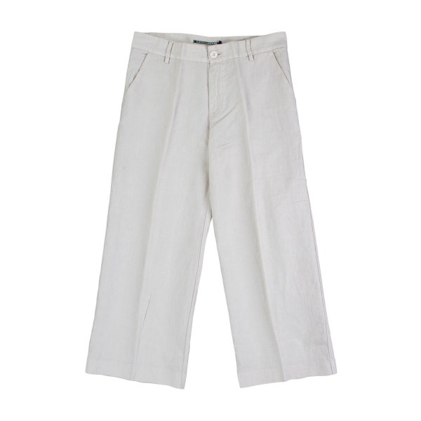 European Culture - PANTALONE BIANCO BAMBINA TEEN 04