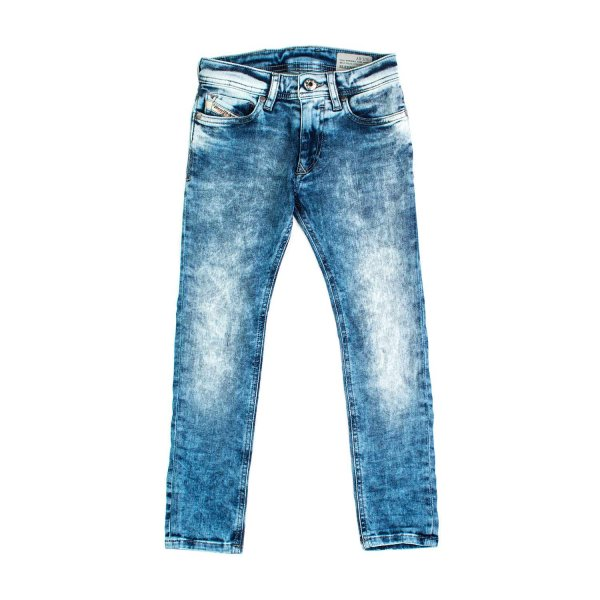 Diesel - JEANS BOY CHIARO HEAVY STONE WASHED