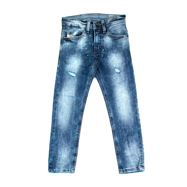 Diesel - JEANS STONE WASHED BAMBINO TEEN