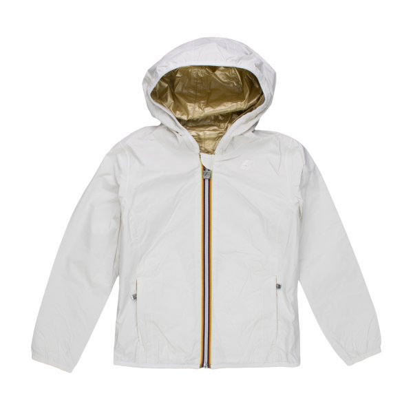 K-Way - GIACCA LILY PLUS DOUBLE METAL ORO BAMBINA