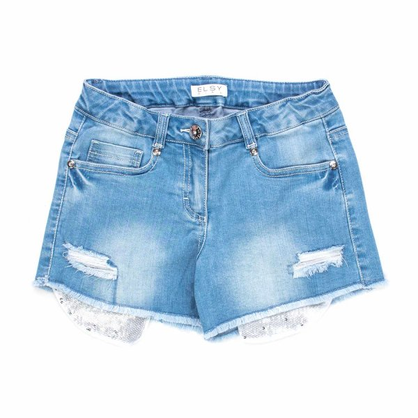 Elsy - SHORTS DENIM BAMBINA TEEN