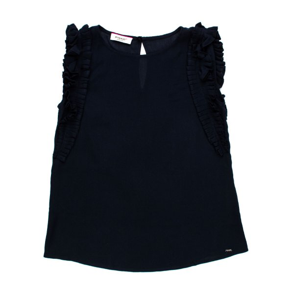 Pinko - TOP BLU NAVY GIRL