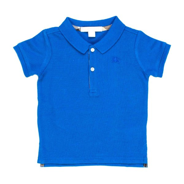 Burberry - POLO BLU CHINA BIMBO BEBè