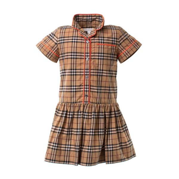 Burberry - ABITO CEHMISIER CHECK BAMBINA