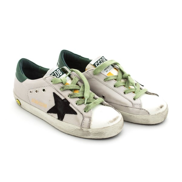 Golden Goose - Sneaker Superstar Jr Grigia Unisex