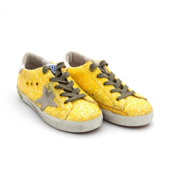 Golden Goose - Superstar Citrus Glitter Baby