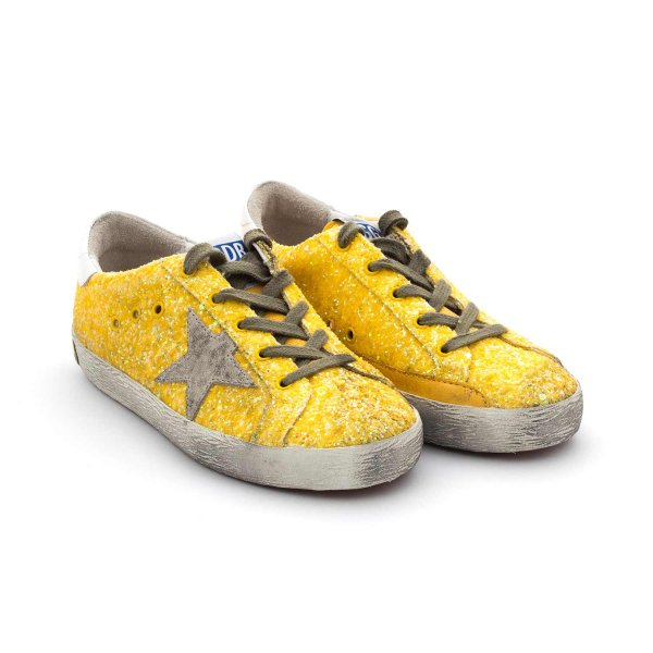 Golden Goose - Superstar Citrus Glitter Junior