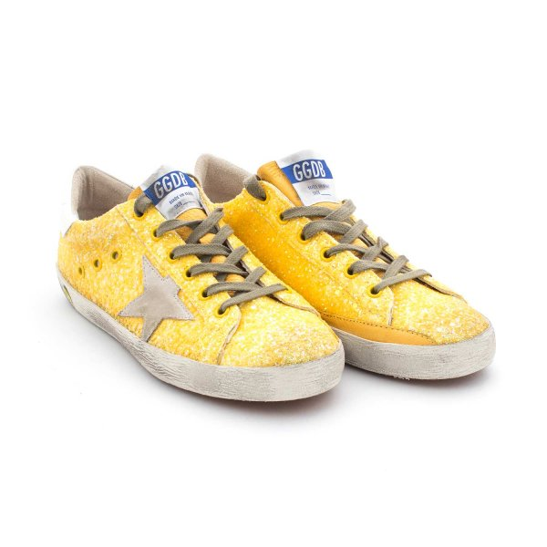 Golden Goose - Superstar Citrus Glitter Teen