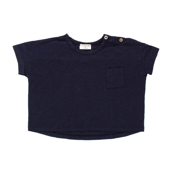 One More In The Family - T-SHIRT KLIMT BLU NOTTE BIMBO BIMBA