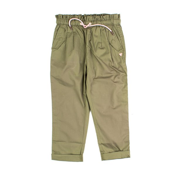 Scotch & Soda - PANTALONE SAFARI VERDE BAMBINA TEEN