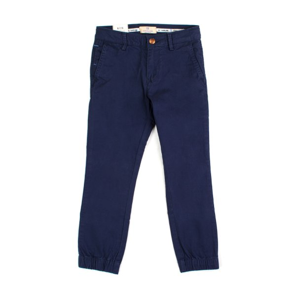 Scotch & Soda - PANTALONE CHINO BLU BAMBINO TEEN 02