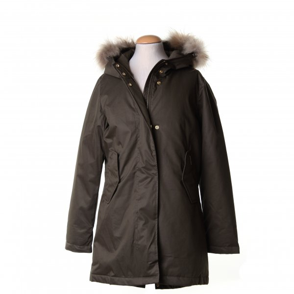 Woolrich - LUXURY ARCTIC GIRL PARKA VERDE SCURO