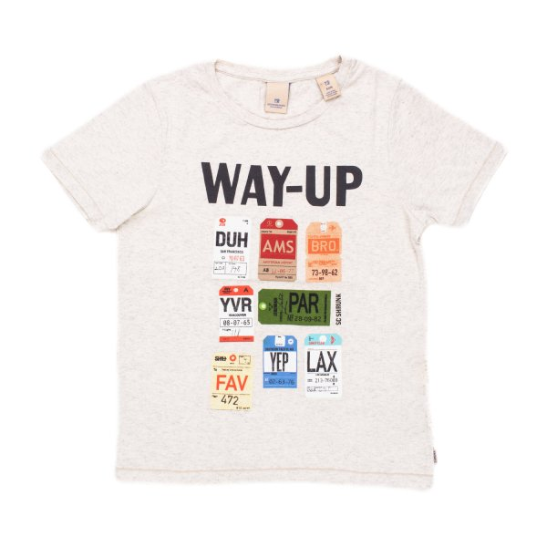 Scotch & Soda - T-SHIRT WAY UP BAMBINO TEEN