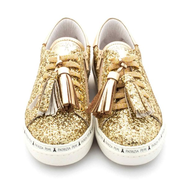 Patrizia Pepe - SNEAKER LIGHT GOLD GIRL