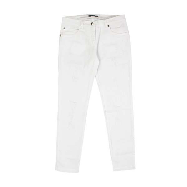 Ermanno Scervino - JEANS BIANCO BAMBINA TEEN