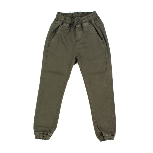 Finger In The Nose - PANTALONE VERDE ARMY BAMBINO TEEN