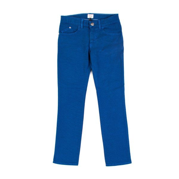 Armani Junior - PANTALONE BLU CHINA BAMBINO TEEN