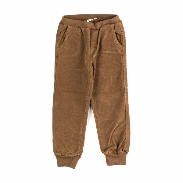 Babe & Tess - BOY BROWN VELVET TROUSERS