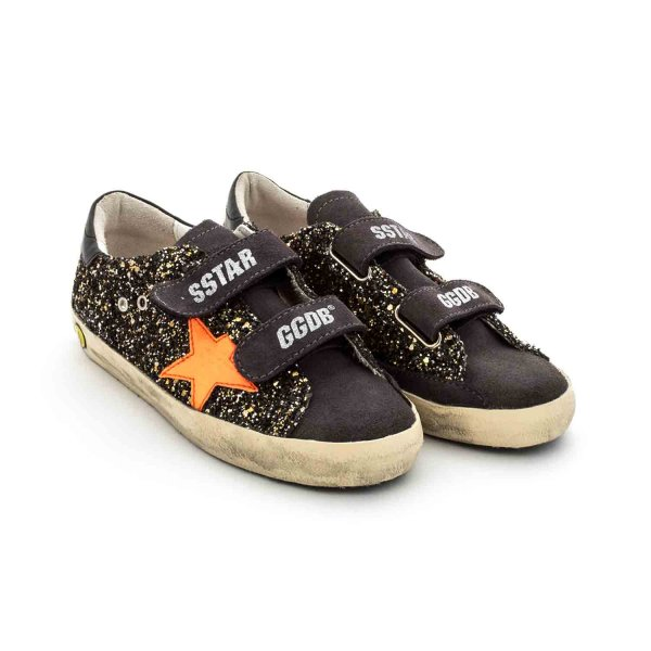 Golden Goose - LITTLE GIRL BLACK SNEAKERS