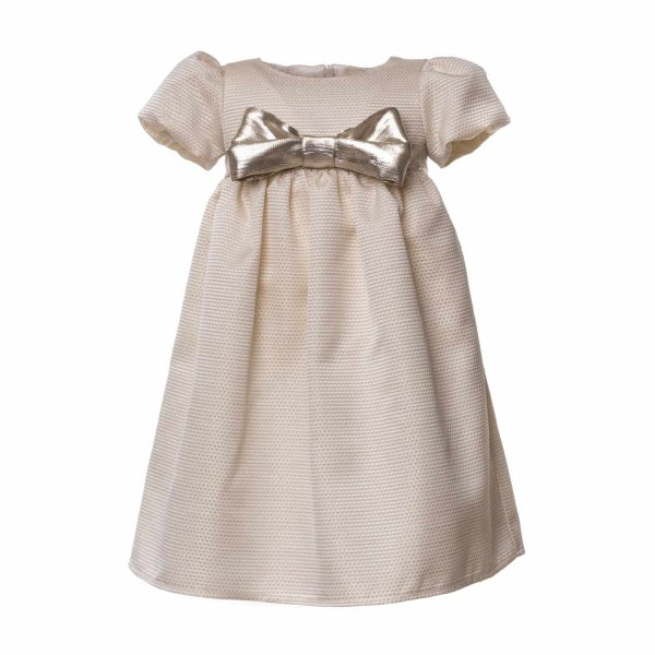 La Stupenderia - BABY GIRL DRESS WITH BOW