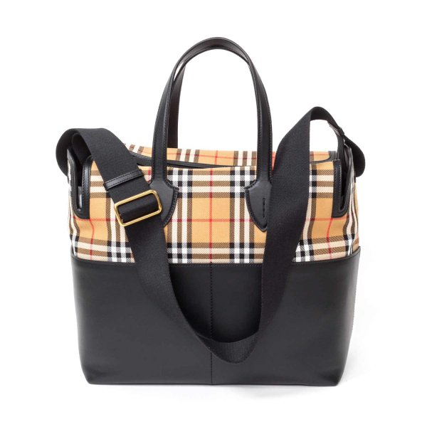 Burberry - CHANGING BAG WITH CHECK PATTERN