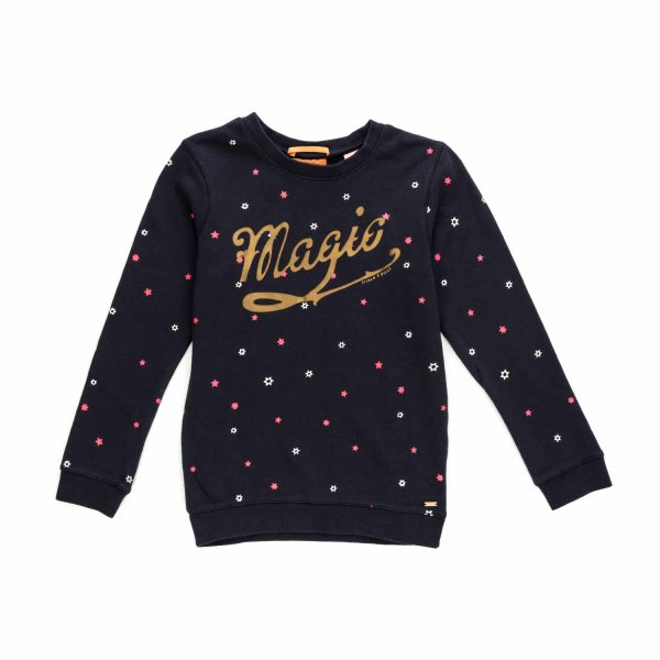 Scotch & Soda - Blue Magic sweatshirt for Teen Girls