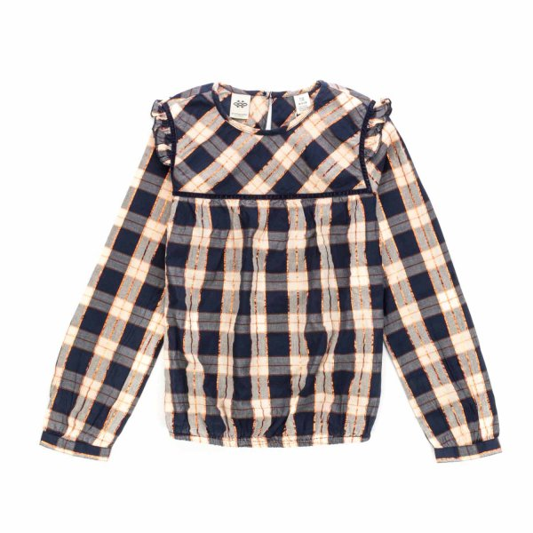Scotch & Soda - BLUSA A QUADRI BIMBA TEEN