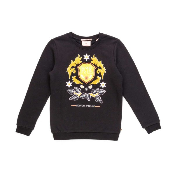 Scotch & Soda - GIRLS COTTON SWEATSHIRT
