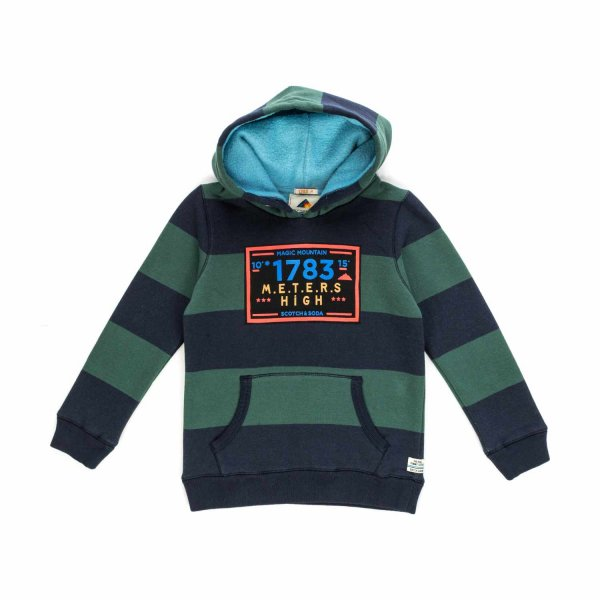Scotch & Soda - Stripped Sweatshirt for Boys