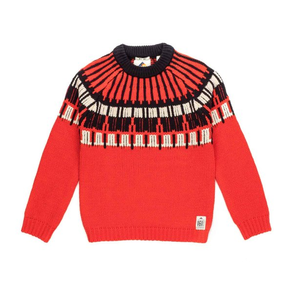 Scotch & Soda - BOY NORDIC PULLOVER