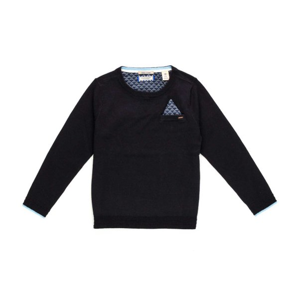 Scotch & Soda - BOY DARK BLUE PULLOVER