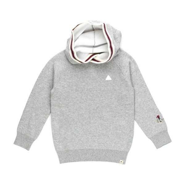 Scotch & Soda - BOY GREY HOODIE