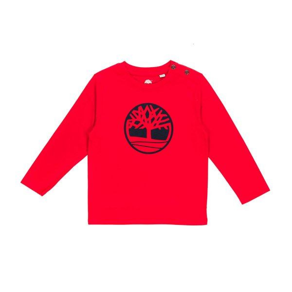 Timberland - BABY BOY RED T-SHIRT
