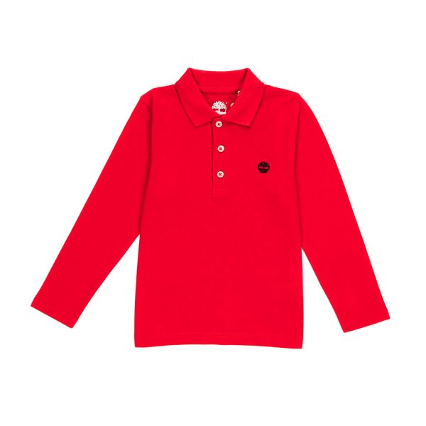 Timberland - BABY BOY RED POLO SHIRT