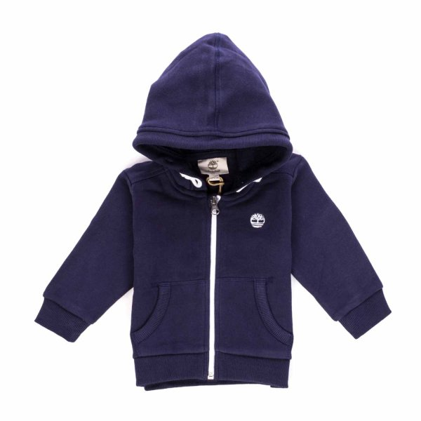 Timberland - Blue Navy Jumper with Zip for Boys
