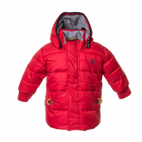 Timberland - Red Jacket for Boys