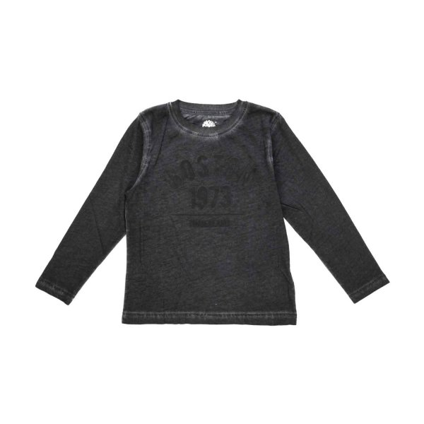 Timberland - BOY LONG-SLEEVED FADED T-SHIRT