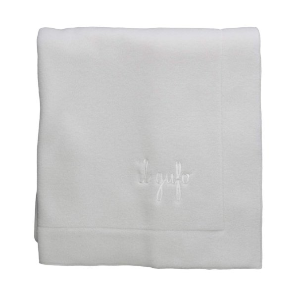 Il Gufo - BABY WHITE FLEECE BLANKET