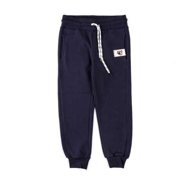Oji - Blue cotton joggins pants unisex