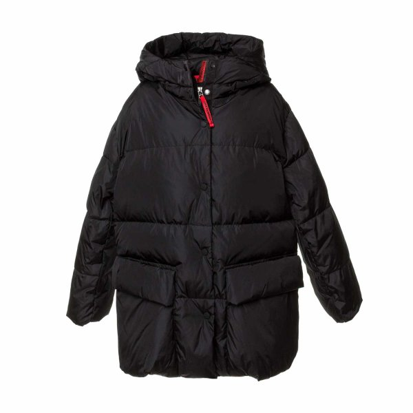Freedomday - Black down jacket for Girls