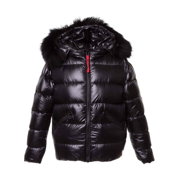 Freedomday - Short Down Jacket black for Girls