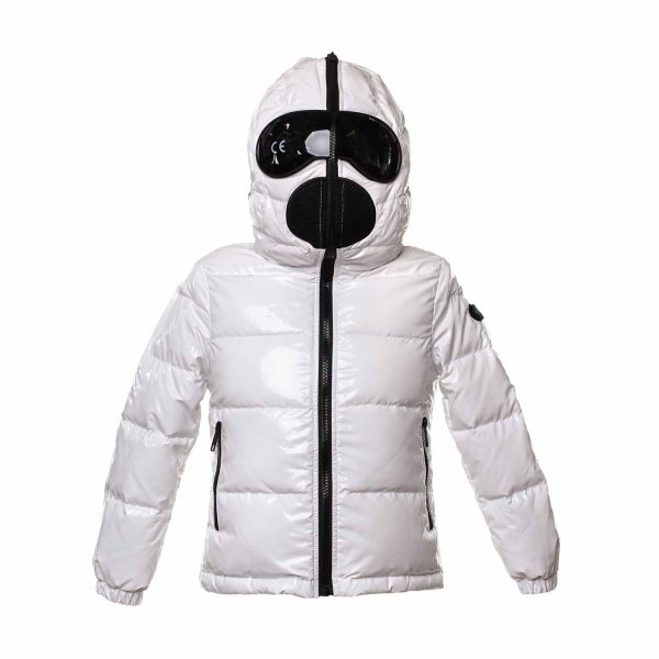 Ai Riders On The Storm - White down jacket for Girls