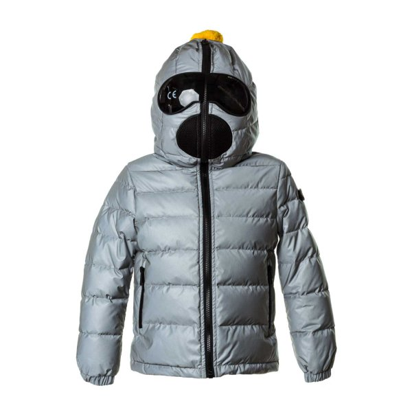 Ai Riders On The Storm - GREY DOWN JACKET