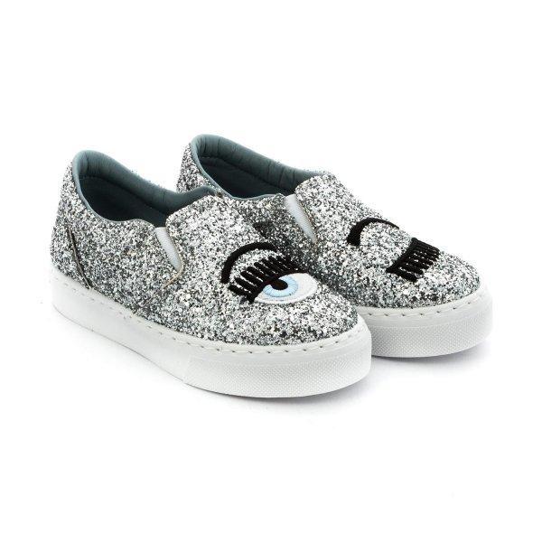 Sneaker Slip On firmata Chiara Ferragni - annameglio.com shop online