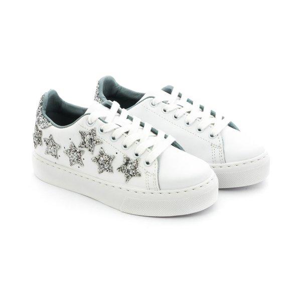 Sneaker bianche star bambina e teen Chiara Ferragni - annameglio.com shop online