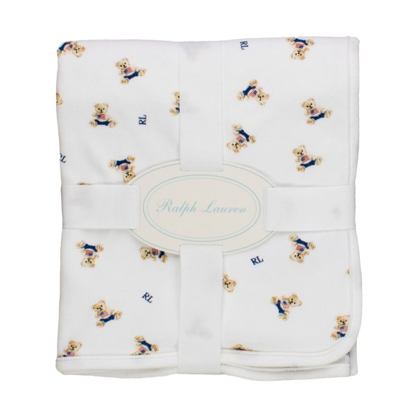 Ralph Lauren - BABY POLO BEAR BLANKET