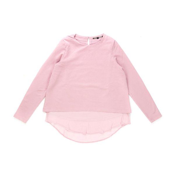 European Culture - Top for  Girls color pink