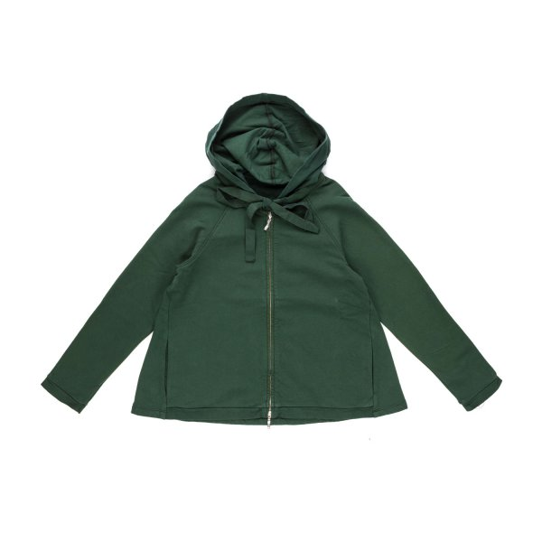 European Culture - GIRL DARK GREEN HOODIE