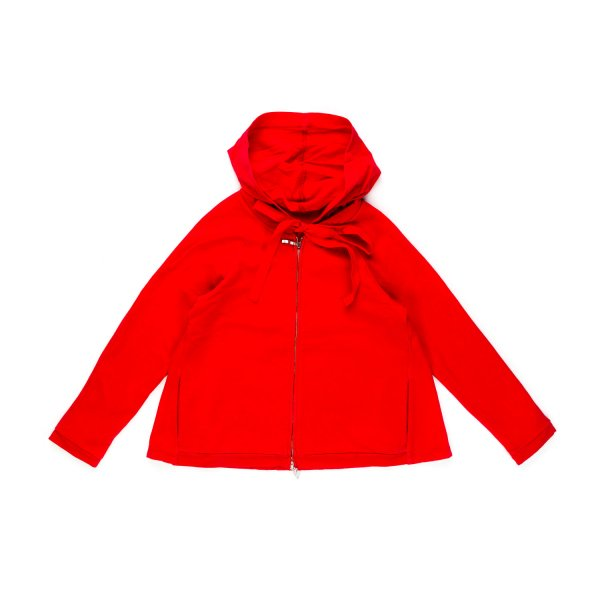 European Culture - GIRL RED HOODED SWEATSHIRT