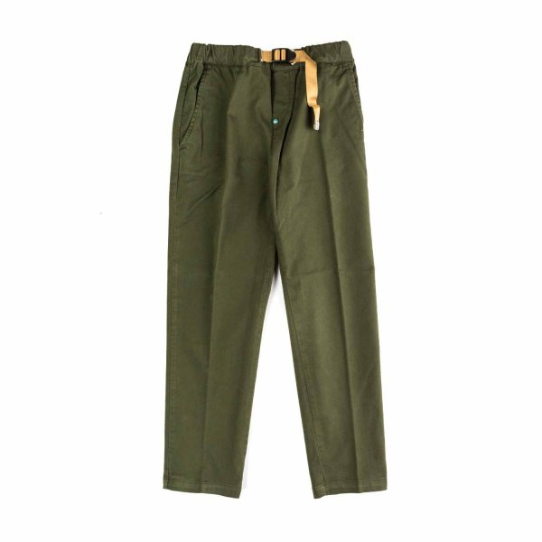 White Sand - BOY MILITARY GREEN TROUSERS